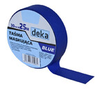 DEKA Taśma maskująca do stolarki BLUE 30MM x 25M D-300-0003